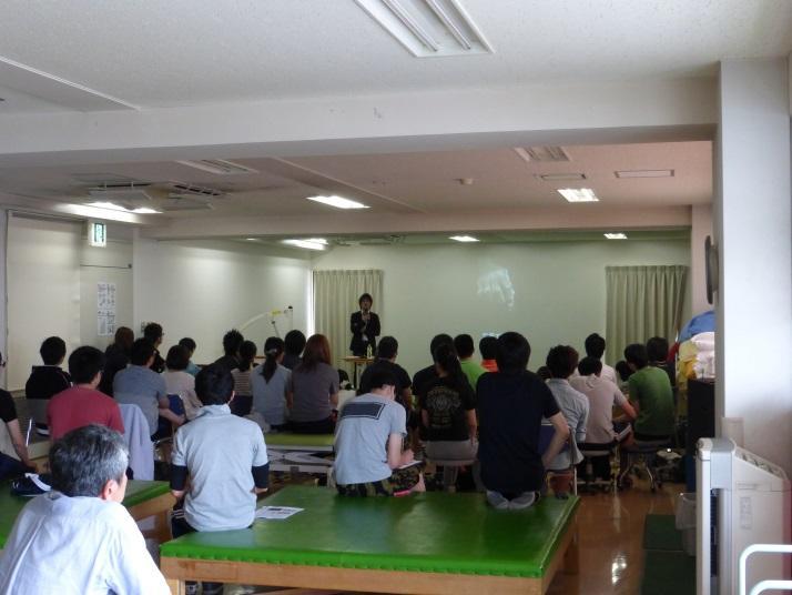 河合先生の講義、「熱意」が大切!これ納得!